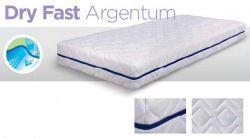 Dpv -  potah Dry Fast Argentum Potahy DryFast Argentum jsou kombinací velmi efektivní technologie regulace vlhkosti a inovace antibakteriálního zpracování stříbrných iontů. Během Vašeho spánku zůstává matrace chladná, svěží a suchá. Zároveň oceníte pohodlnou poddajnost matrace.  Zůstat suchý a chladný Argentum+® potahy jsou vybaveny nejnovější chladící (Cool) technologií. Díky svým jedinečným hydrofi lním vlastnostem zlepšují regulaci vlhkosti – vlhkost je rychle absorbována a odváděna od matrace. Ideální chladné a suché prostředí pro pohodlnou noc.  Svěží a antibakteriální Roztočům se díky tělním tekutinám a teplu daří rozmnožovat a vytváří nepříjemné zápachy. Argentum+® potahy obsahují stříbrné ionty sntibakteriálními vlastnostmi. Stříbrné částice zabraňují rozmnožování roztočů.  Hebká na dotek Nezávisle na technických kvalitách matrací, upřednostňují lidé hebké potahy. Argentum+® potahy jsou vybaveny silikonovou technologií tak, aby zaručily matraci její měkkost a poddajnost.   Dlouhá životnost Potahy Argentum+ mají vynikající dlouhotrvající hydrofi lní vlastnosti. Užívejte si této jedinečné kombinace regulace vlhkosti a antibakteriálních vlastností Argentum+ potahů noc co noc po několik let. - matrace Pallas 150