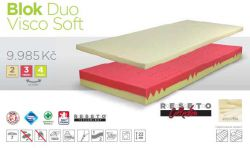 matrace Blok Duo Visco Soft