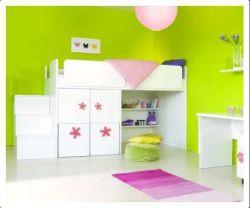 Postel zvýšená bez odkladové police vč. skříňky - dveře vlevo
