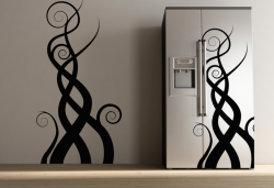 Samolepka na zeď - Design Fiamme