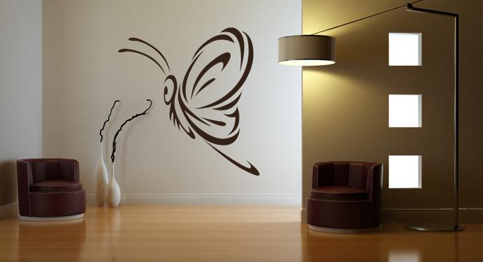 Samolepka na zeď - MOTÝL DESIGN