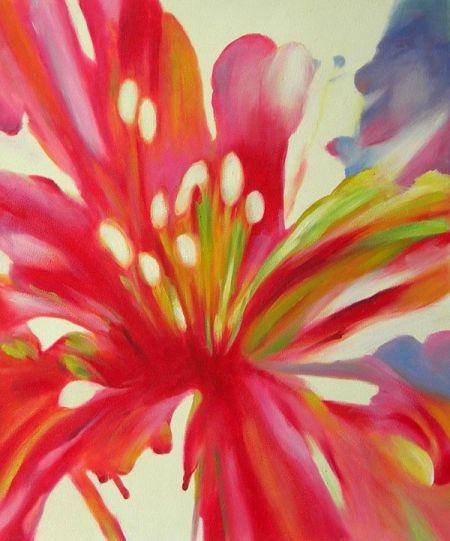 Obraz - Červený květ II.