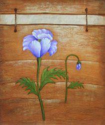 Obraz - Fialkové květy