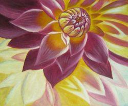 Obraz -  Rozkvetlá Chryzantéma