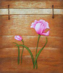 Obraz - Růžové květy