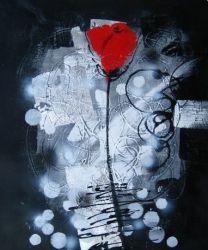Obraz - Temná růže