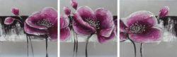 Obrazy - Fialové květy