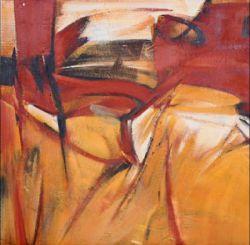 Obrazy - Oranžová abstrakce