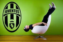 Samolepka na zeď - FC  JUVENTUS TURIN