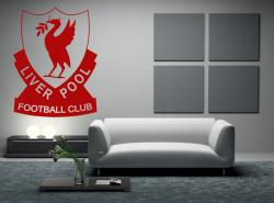 Samolepka na zeď - FC LIVERPOOL