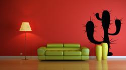 Samolepka na zeď - KAKTUS
