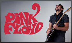 Samolepka na zeď - PINK FLOYD