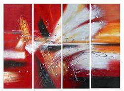 Obraz - Abstrakce křídla holubic