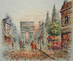Obraz - Barevná ulice