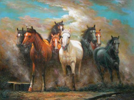 Obraz - Běžící koně