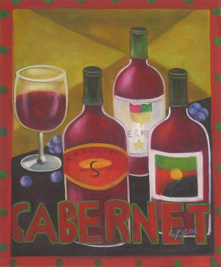 Obraz - Cabernet