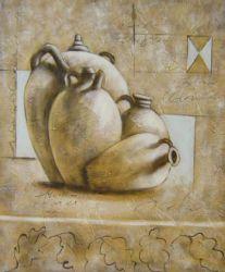 Obraz - Čtyři keramické vázy