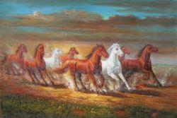 Obraz - Cválající koně