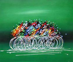 Obraz - Cyklisti