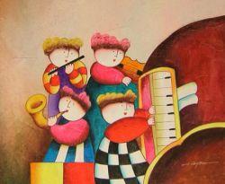 Obraz - Dětská kapela
