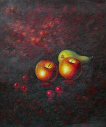 Obraz - Dvě jablka