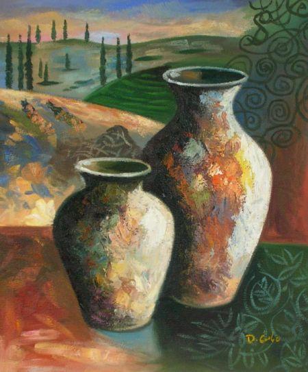 Obraz - Dvě vázy
