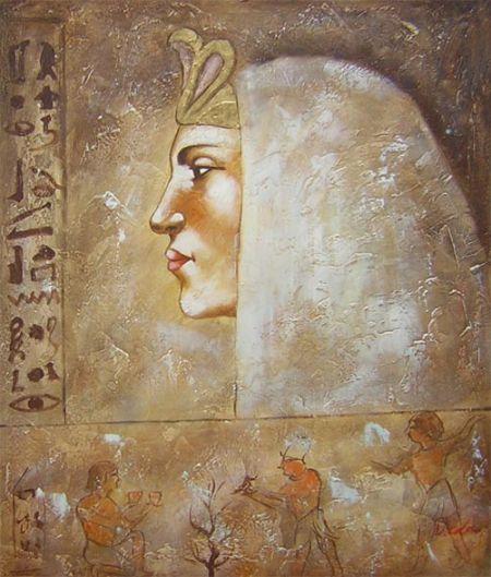 Obraz - Egyptská žena I.