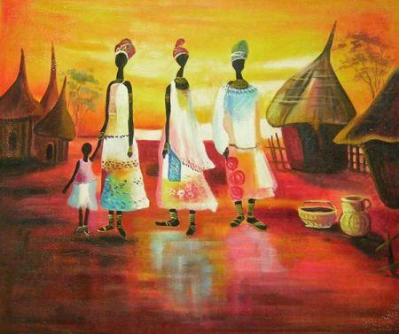 Obraz - Indiánské ženy