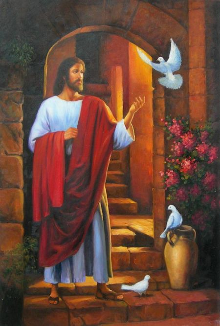 Obraz - Náboženský motiv V.