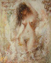 Obraz - Nahá dívka