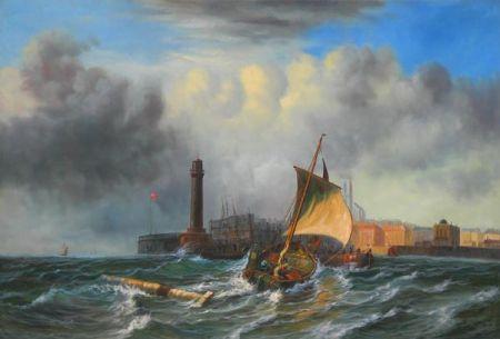 Obraz - Plachetnice na  moři I.