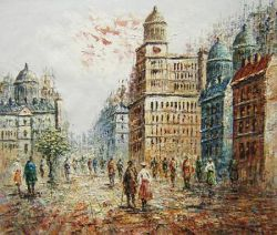 Obraz - Plná ulice
