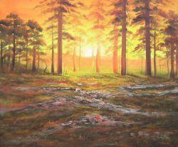 Obraz -Pohádkový les