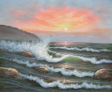 Obraz - Příliv moře