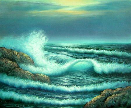 Obraz - Příliv moře I.