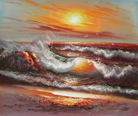 Obraz - Příliv moře II.