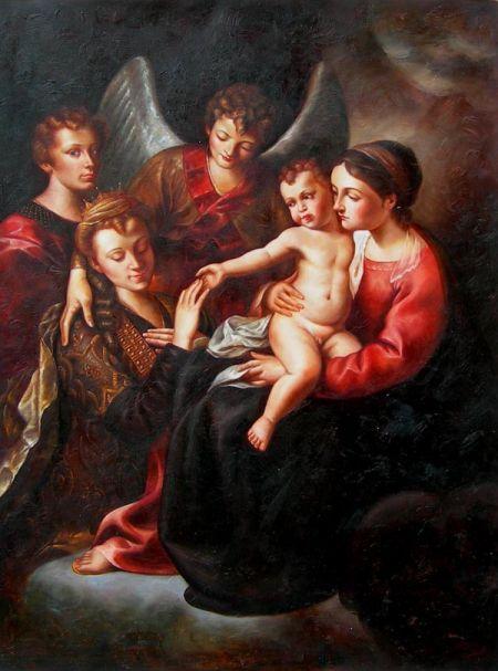 Obraz - Rodina s andělem