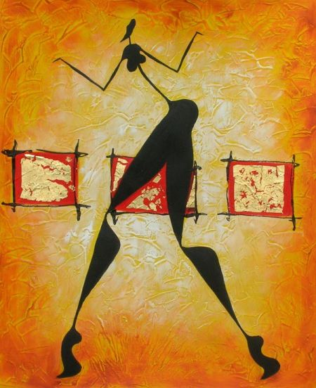 Obraz - Tanec o samotě