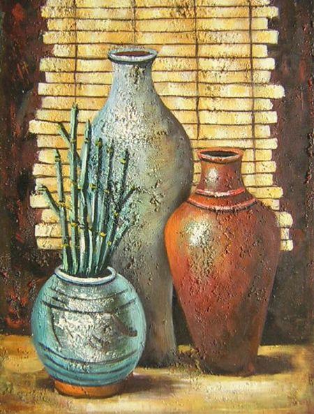 Obraz - Tři vázy I.