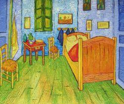 Obraz - Van Goghova ložnice v Arles