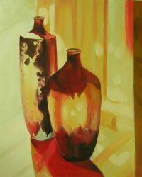 Obraz - Vázy