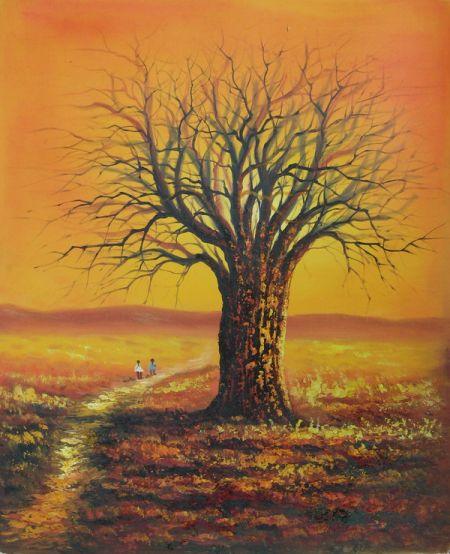Obraz - Zlatý strom I.