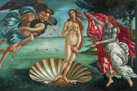 Obraz - Zrození Venuše